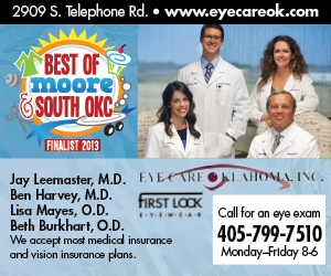 Eye Care Oklahoma 300x250