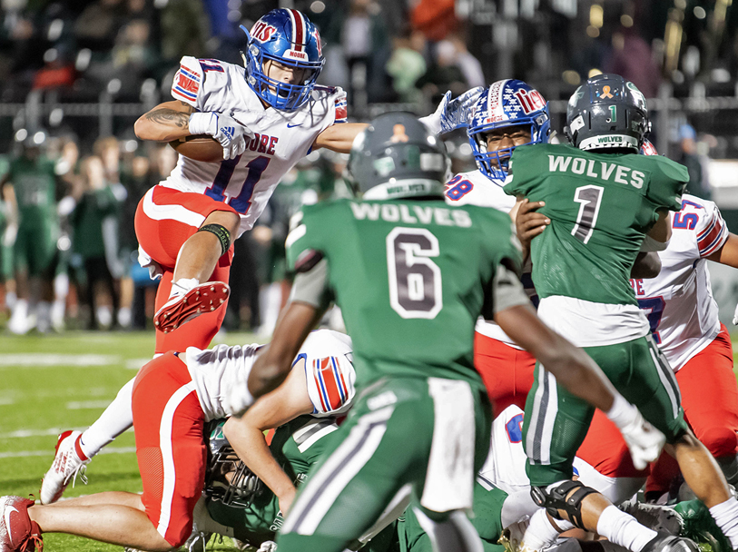 PHOTO GALLERY: Lions Get Upset over Wolves in 6A Playoffs