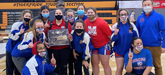 Avallone Coaches MHS Lady Wrestlers to Regional Title