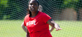 Moore's Traylor Roars as COAC'S Best Female Field Event Athlete
