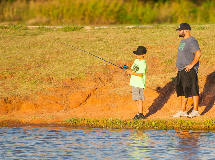 City's Annual Fishing Derby Draws a Crowd