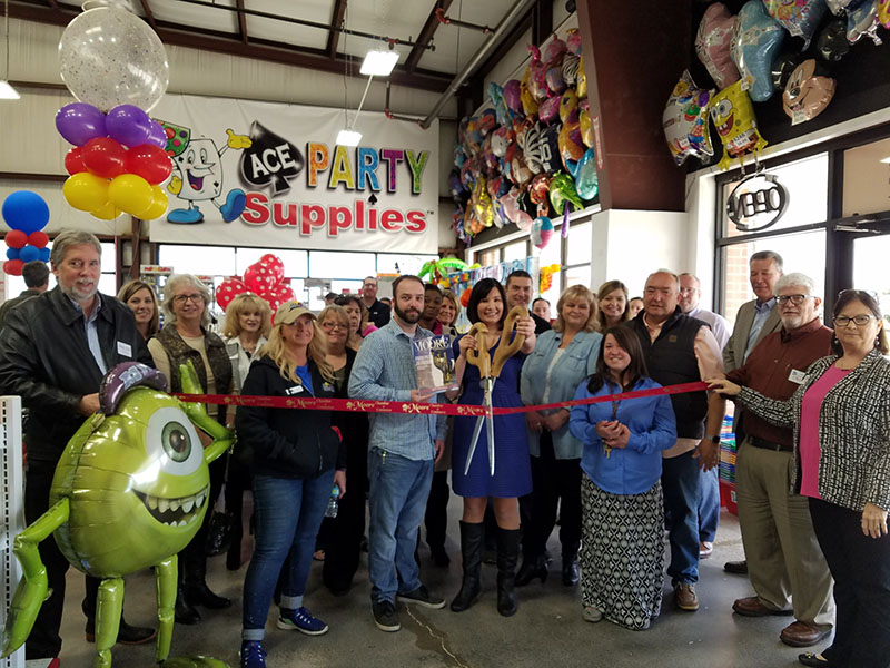 RIBBON CUTTING: Ace Party Supplies & Showtime Concession