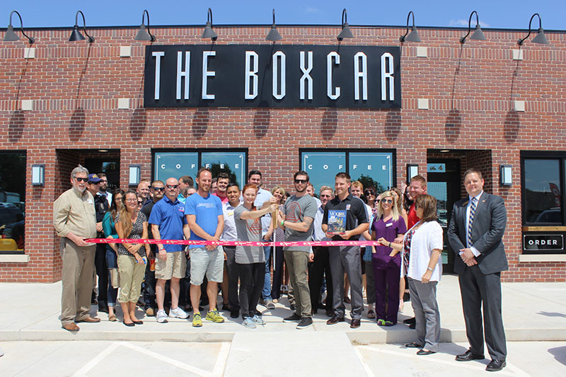 RIBBON CUTTING: The Boxcar of Moore