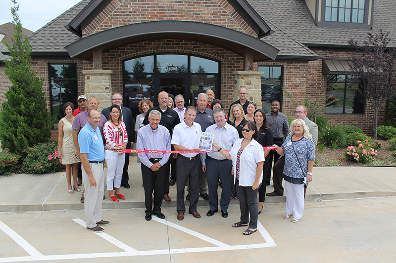 RIBBON CUTTING: Great Plains National Bank
