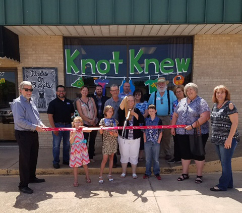 RIBBON CUTTING: Knot Knew