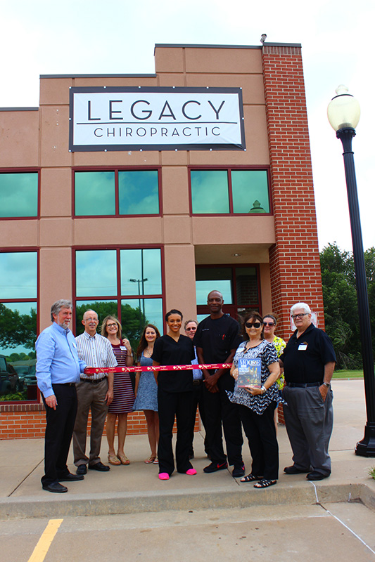 RIBBON CUTTING: Legacy Chiropractic