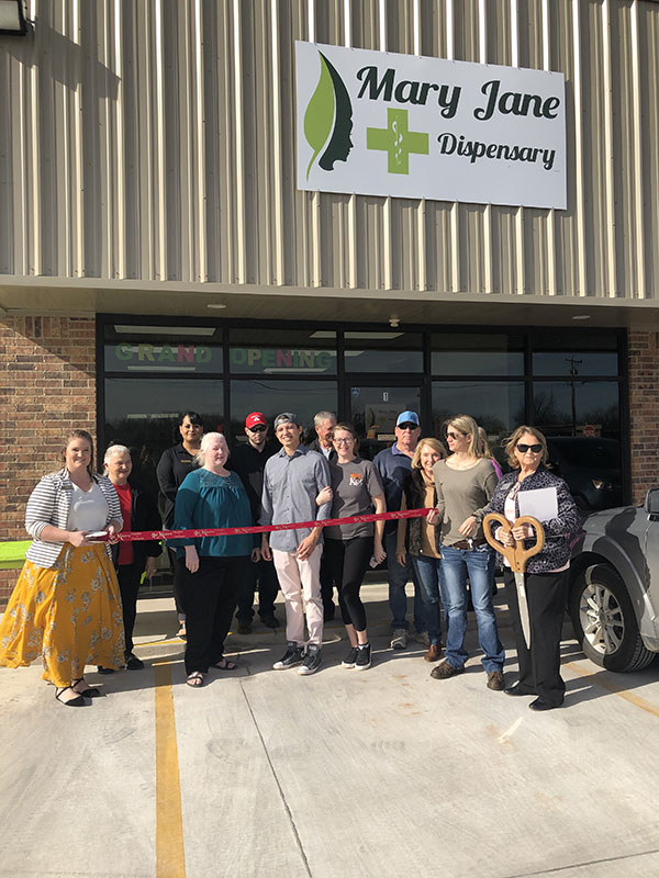 Ribbon Cutting: Mary Jane Dispensary