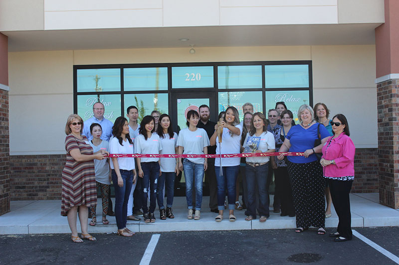 RIBBON CUTTING: Modish Nail spa