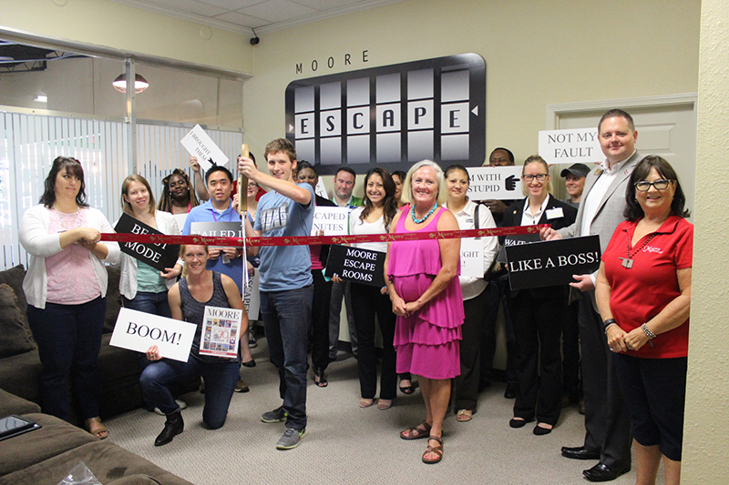 RIBBON CUTTING: Moore Escape Rooms