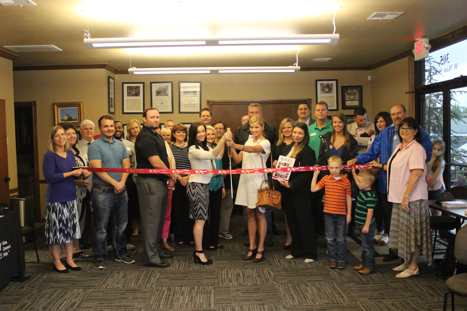 RIBBON CUTTING: TSET