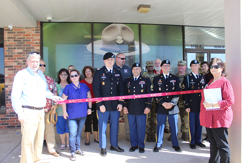RIBBON CUTTING: US Army Recruiting Center